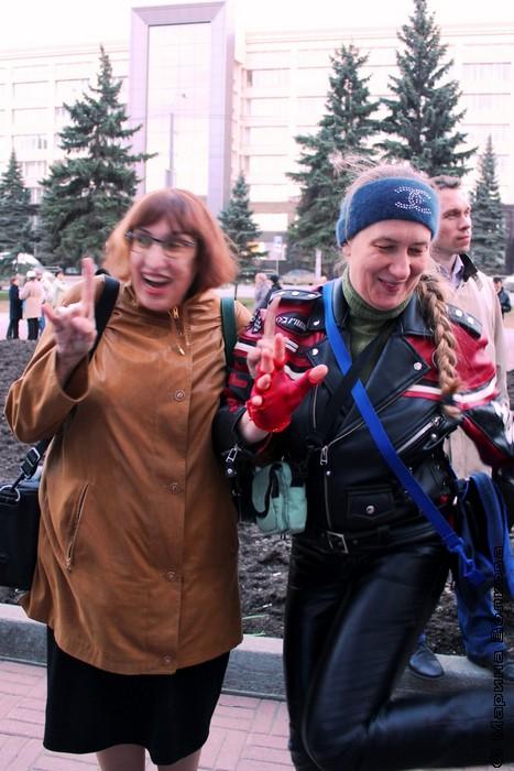 Марина Волкова и Марина Мухамедьярова