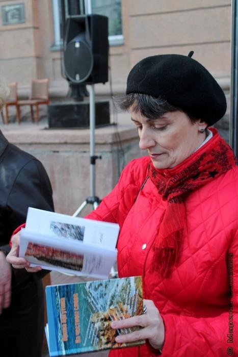 """Ирина Аргутина готовится к выходу на """"сцену"""""""
