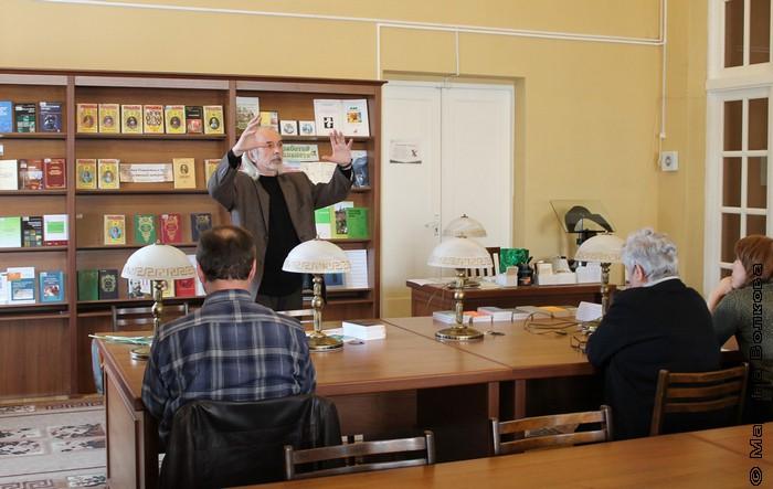 Встреча с Болдыревым в ЧОУНБ