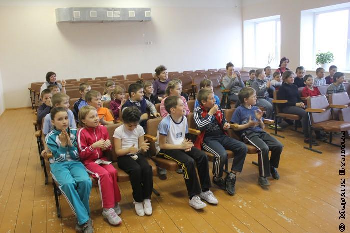 Читательские марафоны в Хомутинино
