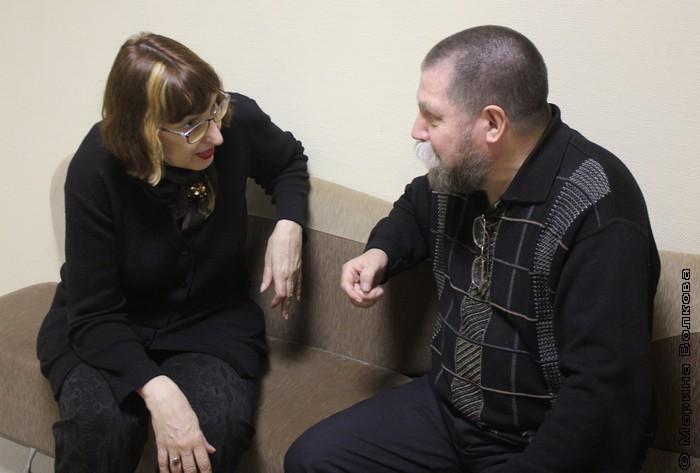 Марина Волкова и Арсен Титов