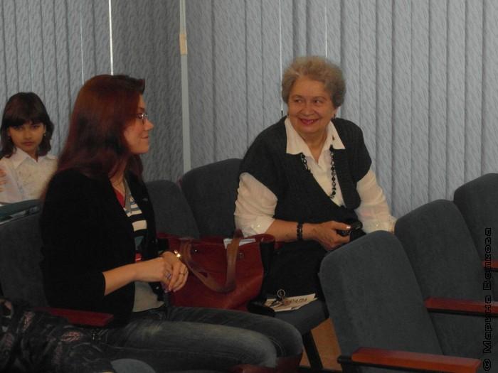 Полина Бабушкина и Людмила Васильевна
