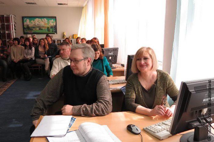 Открытие Совещания в библиотеке ЧГАКИ
