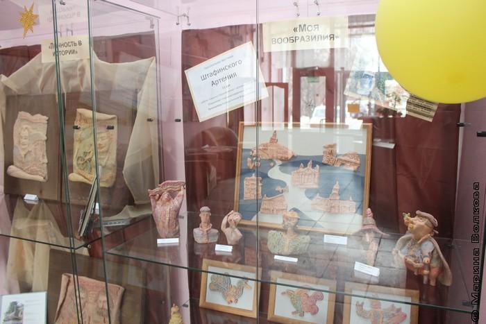 В ЦДЮБ постоянно проходят персональные выставки детей