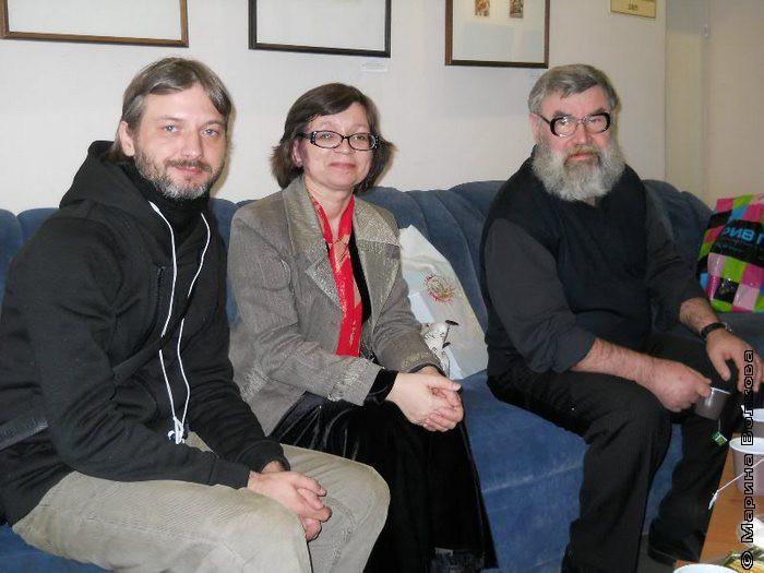 Красноярск Поэты Иван Клиновой, Нина Ягодинцева, Сергей Кузнечихин