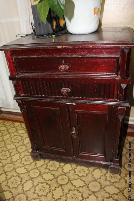 Старый шкаф