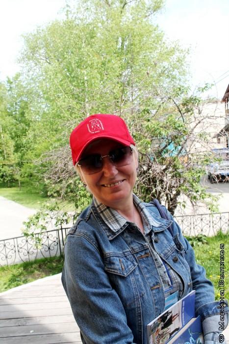 Людмила Романова, НХТ, - одна из организаторов