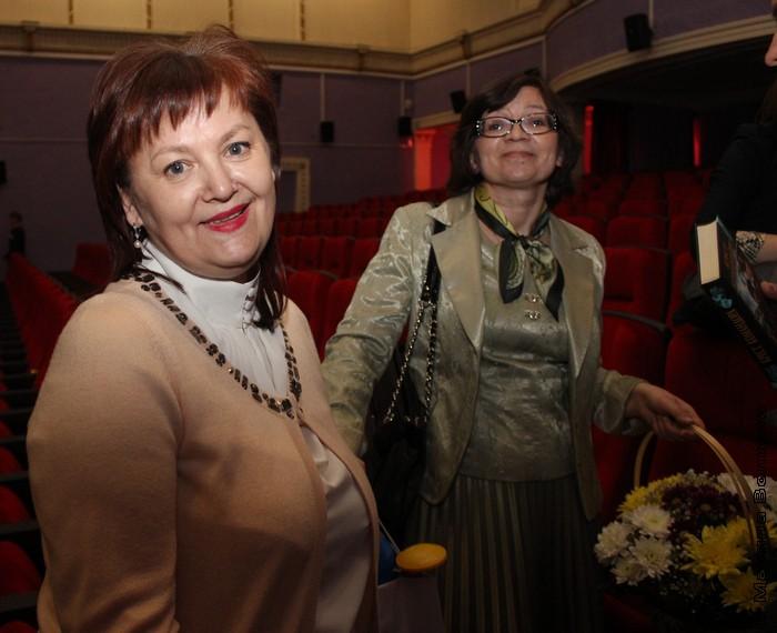 Елена Губина и Нина Ягодинцева после фестиваля