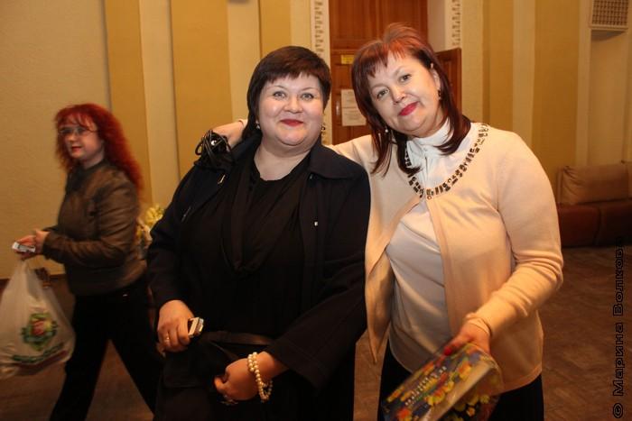 Елена Сыч и Елена Губина