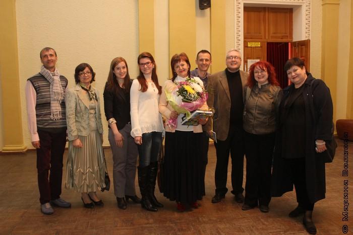 Елена Губина и ее соратники