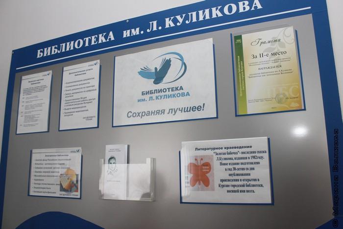 В библиотеке имени Л.И.Куликова