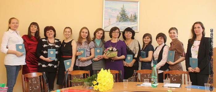 Выпуск Литературных курсов-2013 года