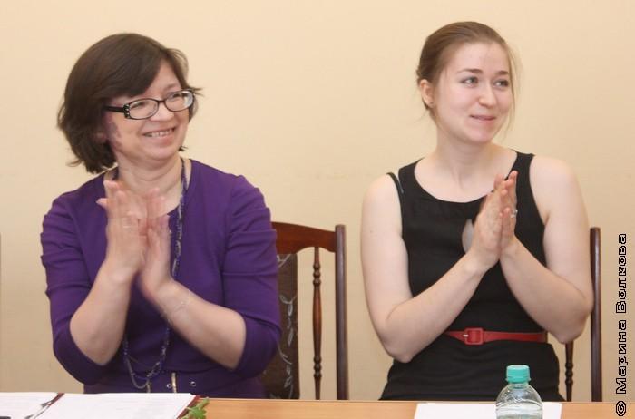 Нина Ягодинцева и Юлия Бадакова