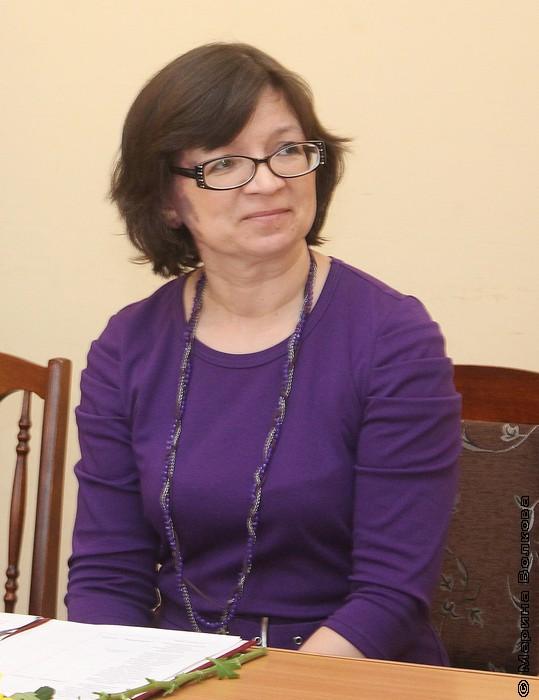 Нина Ягодинцева, руководитель Литературных курсов ЧГАКИ