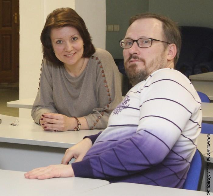 Ольга Опарина и Андрей Расторгуев