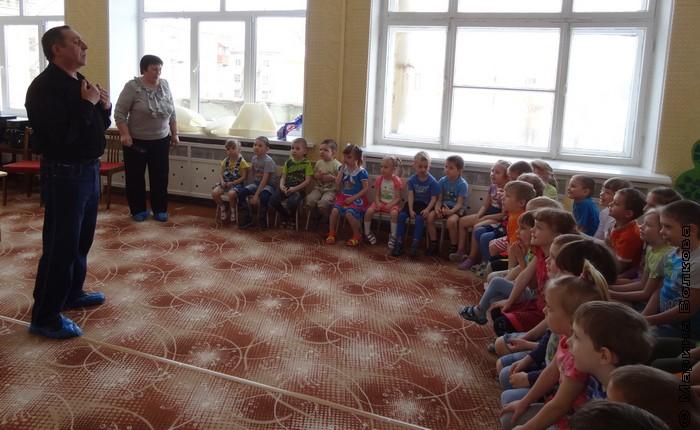 Читательский марафон в детском саду Копейска