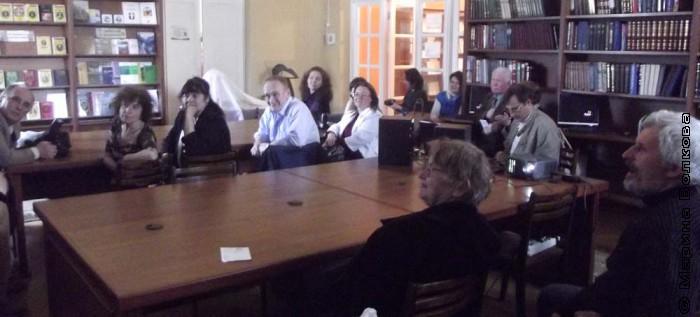 Встреча авторов и создателей литературно-художественного альманаха фантастики «Пришельцы» с читателями
