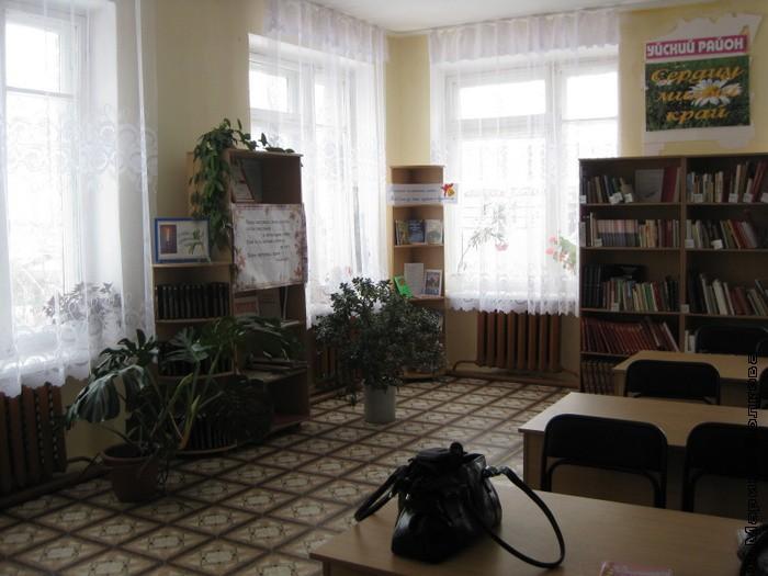Зона читального зала Вандышевский филиал