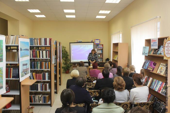Читательскую эстафету принимает библиотекарь села Красное поле