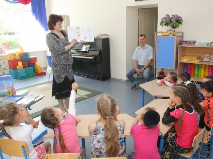 Читательский марафон в еврейском детском саду Тольятти
