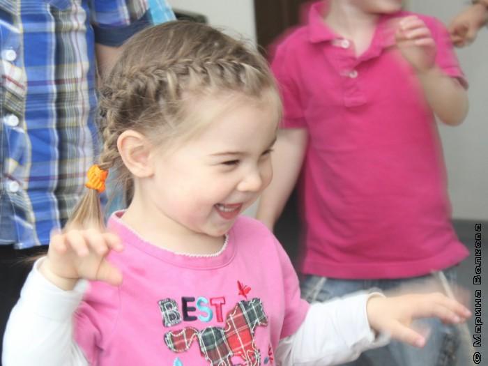 Читательский марафон в еврейском детском саду