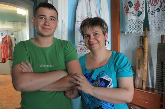 Вера Александровна с сыном Дмитрием