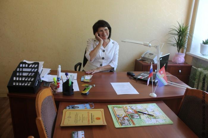 Кабинет директора школы, Тамары Александровны Петровой