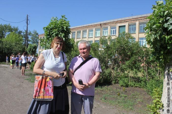 Марина Волкова и Сергей Зверев