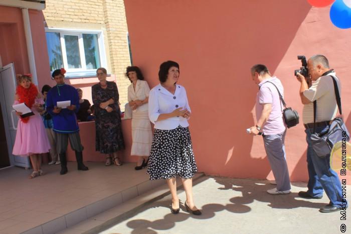 Директор школы Тамара Александровна Петрова