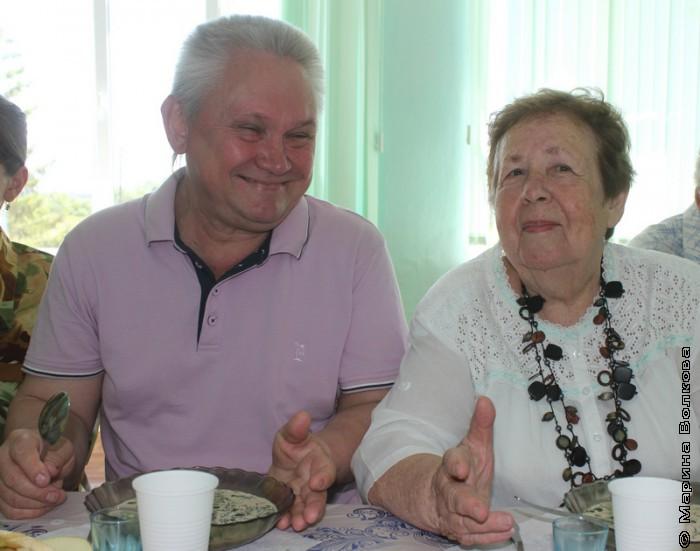 Сергей Зверев и Надежда Капитонова