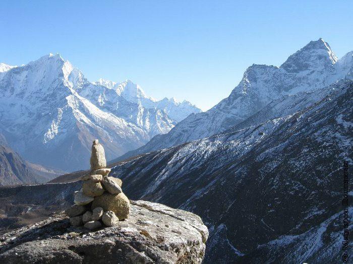 Центр Гималаи. Обо на хребте Кьяджо-ри