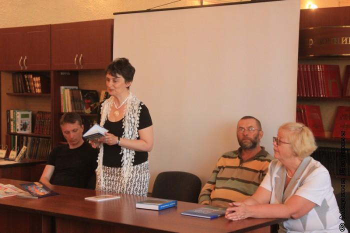 Творческая встреча в Пласте