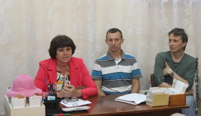 Ирина Голубовская на своем первом Читательском марафоне