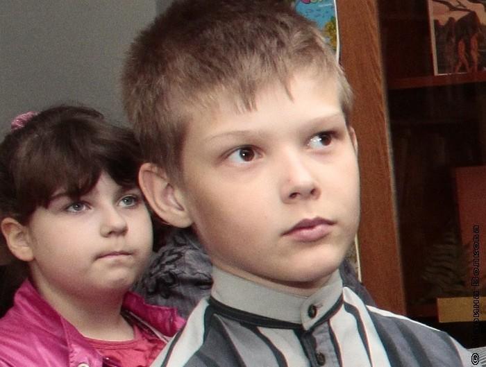 Дети на встрече с Еленой Соловьевой