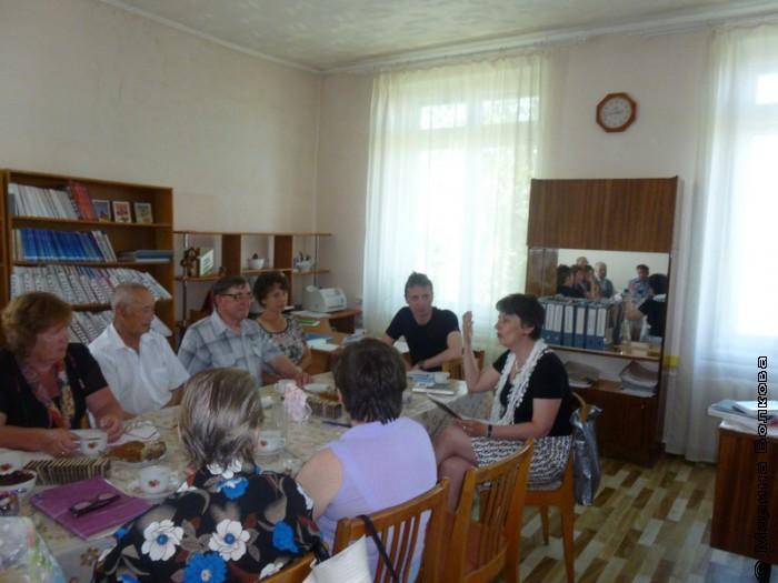 Аналитический литературно-издательский чай в Кизильском