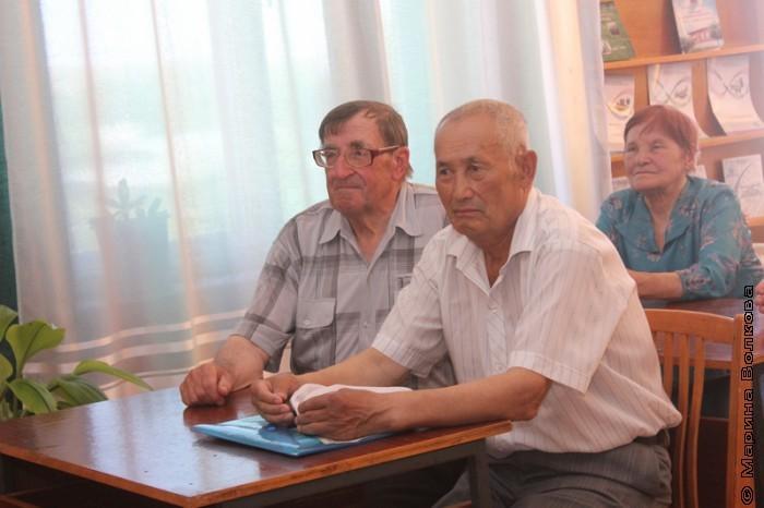 Встреча с читателями Кизильского