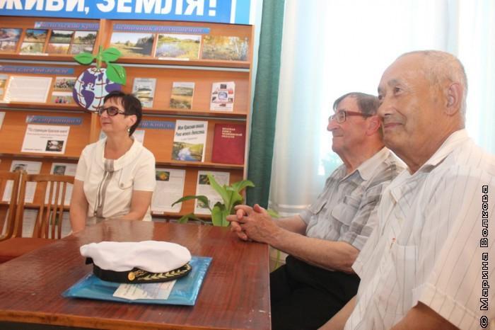Сергей Поляков, встреча с читателями в  библиотеке Кизильского