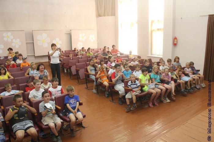 На Читательском марафоне в Кизильском