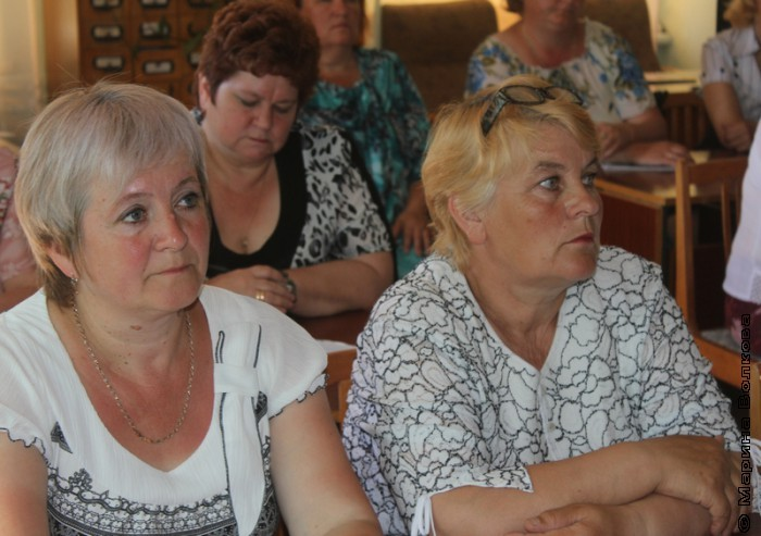 Семинар библиотекарей в Кизильском