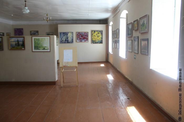 Выставочный зал в Кизильском