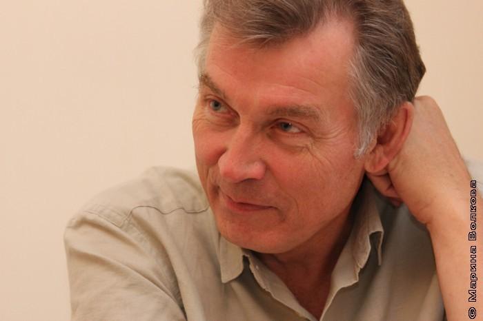Александр Кузнецов в начале праздника