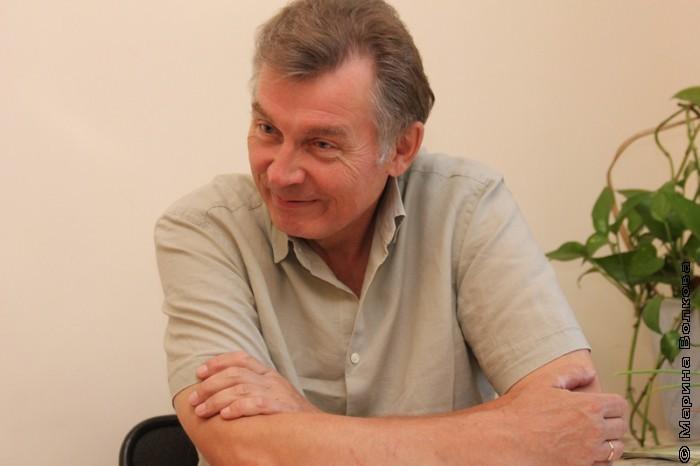Александр Кузнецов во время праздника