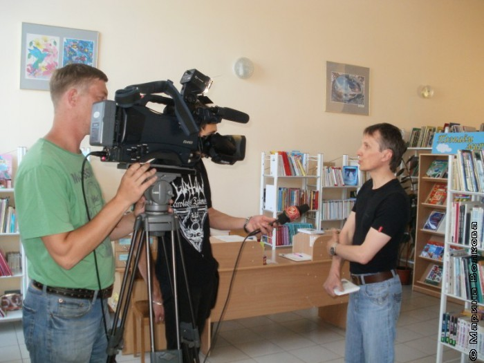 Интервью для магнитогорского ТВ