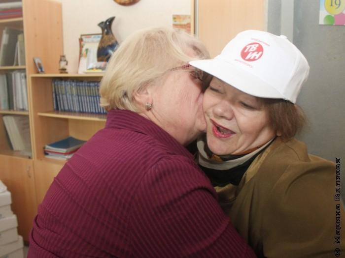 Наталья Шмидт и Римма Дышаленкова