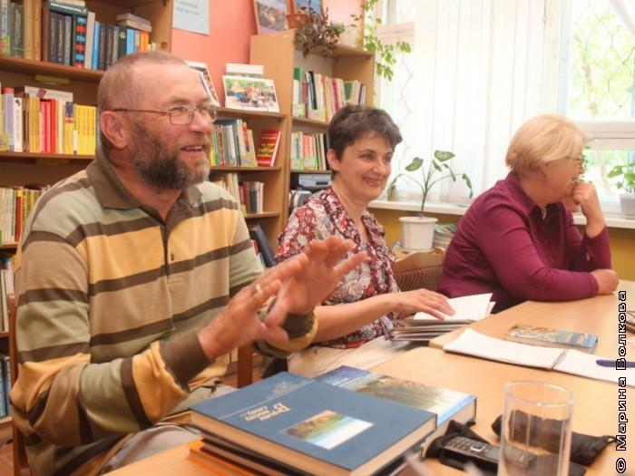 Сергей Поляков на семинаре библиотекарей Магнитогорска