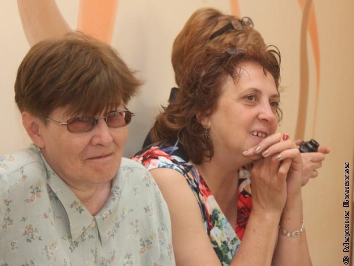 Светлана Суркова и Людмила Богдановская