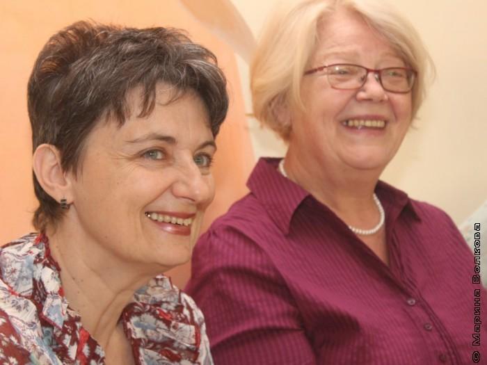 Ирина Аргутина и Наталья Шмидт