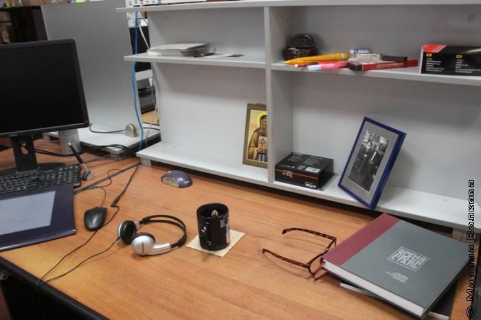Рабочее место дизайнера