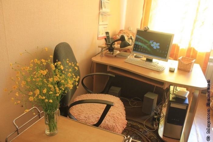Рабочее место блогера