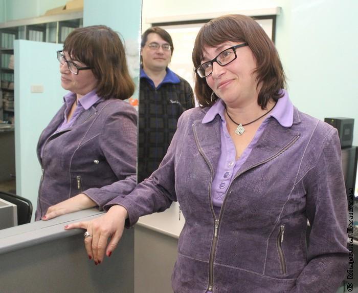 Елена Соловьева в библиотеке имени В.В.Маяковского